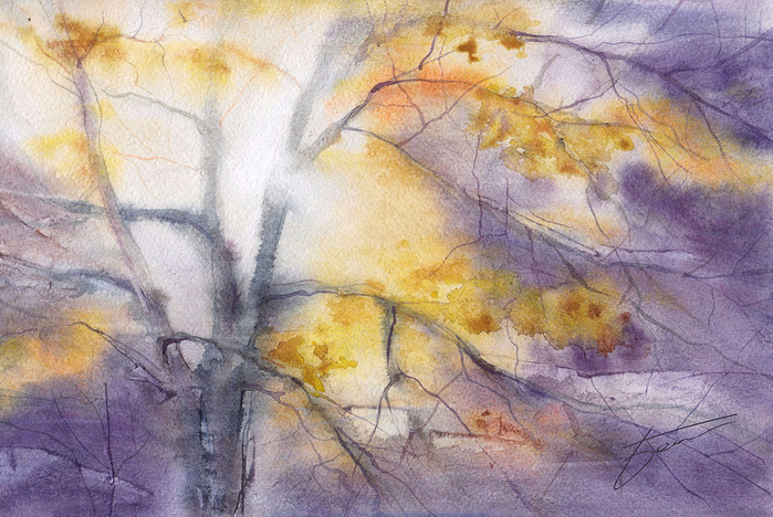 Oleg Bezdush Watercolor