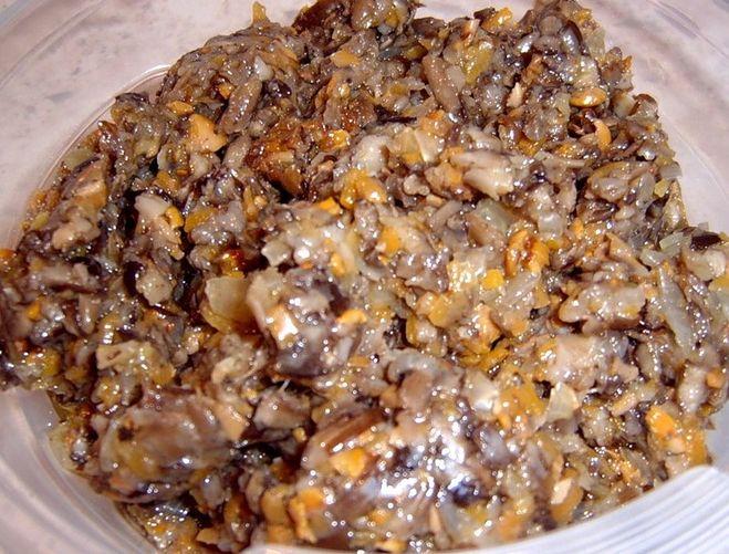 что нужно для приготовления икры из грибов нем сих
