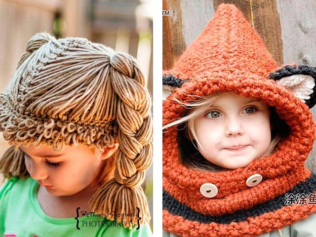 Модные шапки осень 2017 связать - Модные вязаные шапки сезона осень-зима, фото