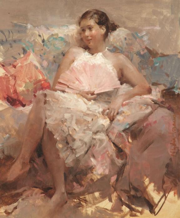 """Nadya Lozano - Spanish Impressionist Figurative painter - Tutt""""Art@ (3) (577x700, 383Kb)"""