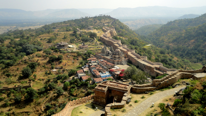 Kumbhalgarh Fort 6 (700x393, 437Kb)