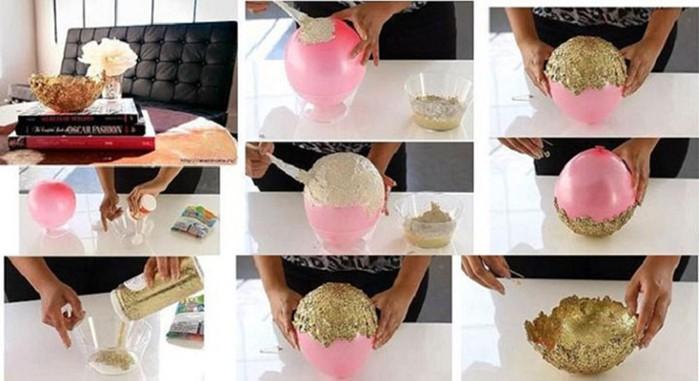 Как можно преобразить интерьер с помощью воздушных шариков