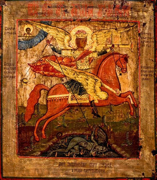 Почему Россия выбрала своим небесным покровителем Георгий Победоносца