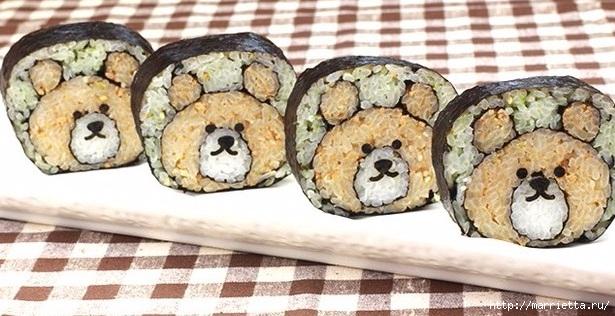 Детские суши. Можно ли давать детям суши (43) (615x316, 172Kb)