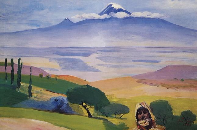 Долина Арарата. 1945 (646x429, 275Kb)