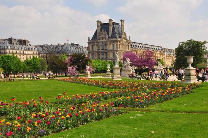 сад тюильри в париже фото 3 (700x464, 374Kb)