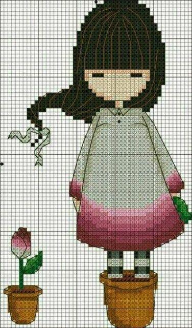 Схема для вышивки gorjuss