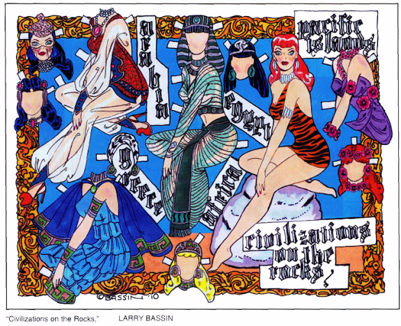 Civilizations on the Rocks Paper Doll by Larry Bassin (576x468, 462Kb)