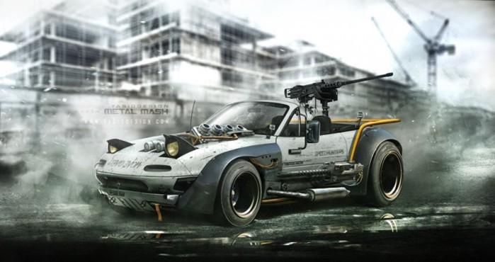 Рендеры: Автомобили, которые тоже могли быть в «Безумном Максе»