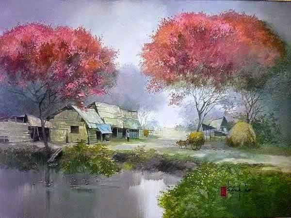 Самые красивые пейзажи.Художник Dang van Can/3364688_13876236_1155290384530920_2326553380952612382_n (600x451, 41Kb)