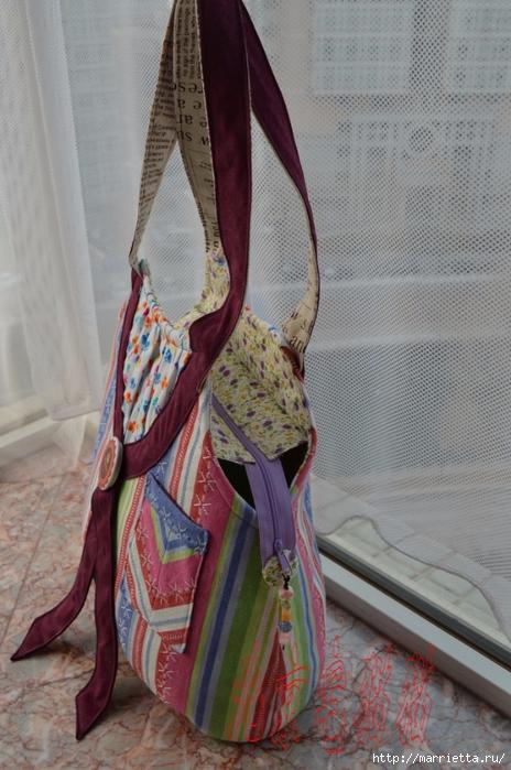 Шьем сумку интересного дизайна. Выкройка и мк (24) (464x700, 271Kb)