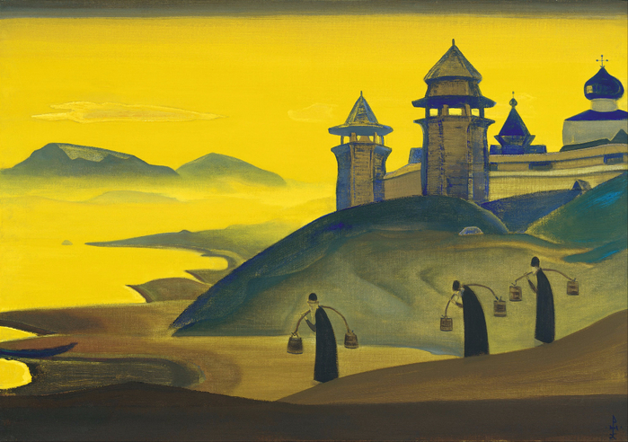 N._Roerich_-_And_We_are_Trying._From_the_«Sancta»_Series_-_Google_Art_Project (700x492, 412Kb)