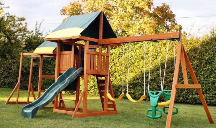 Обустраиваем детскую площадку на дачном участке (5) (700x414, 396Kb)