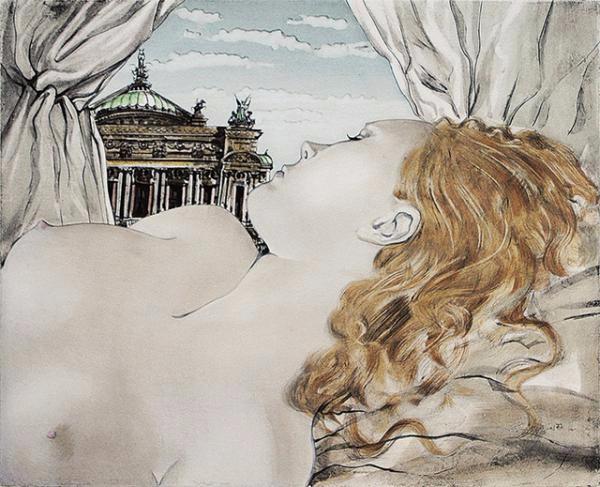 "+ Опера мечты  (Rêve d""Opera). 1951. (600x487, 230Kb)"