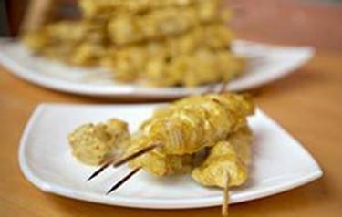 Шашлык из курицы по домашнему   вкусный рецепт шашлычка для дома