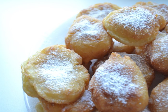 Пончики с плавлеными сырками   простой и вкусный рецепт!