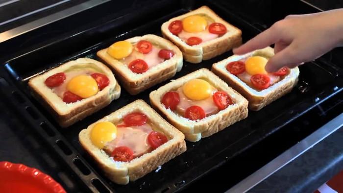 Бутерброды сытные