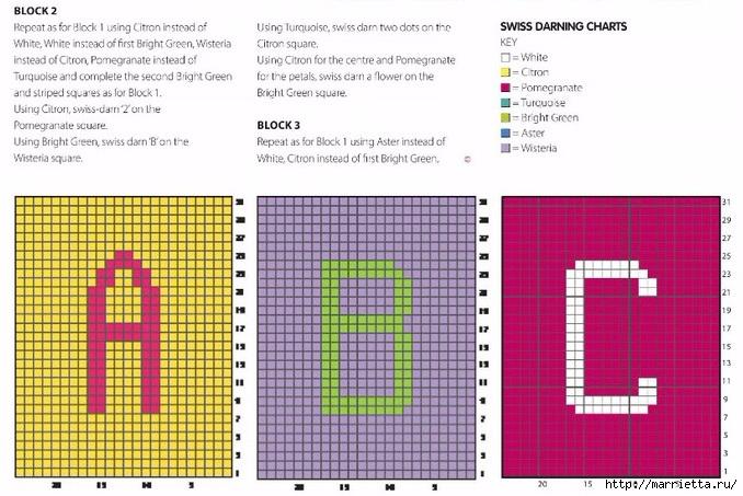 Вяжем спицами детские кубики (2) (678x453, 242Kb)