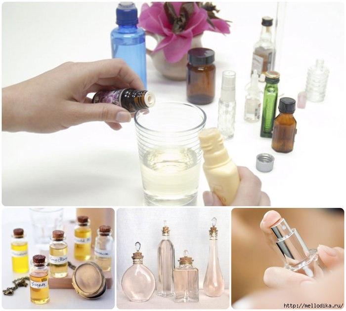 Как сделать духи самой в домашних условиях