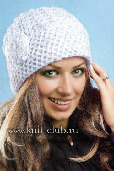 Теплые шапки крючком схемы и описание для женщин