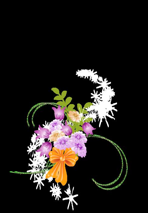 звездные цветы (487x700, 153Kb)
