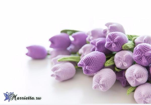 Вяжем крючком цветы - ТЮЛЬПАНЫ (3) (599x419, 115Kb)