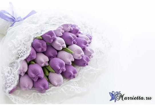 Вяжем крючком цветы - ТЮЛЬПАНЫ (5) (543x369, 118Kb)