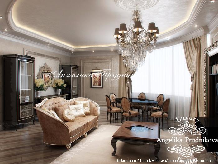 Дизайн квартиры в классическом стиле на ул. Гарибальди.