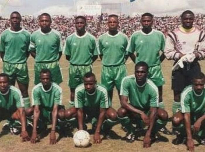 Сборная Замбии образца 1993 года