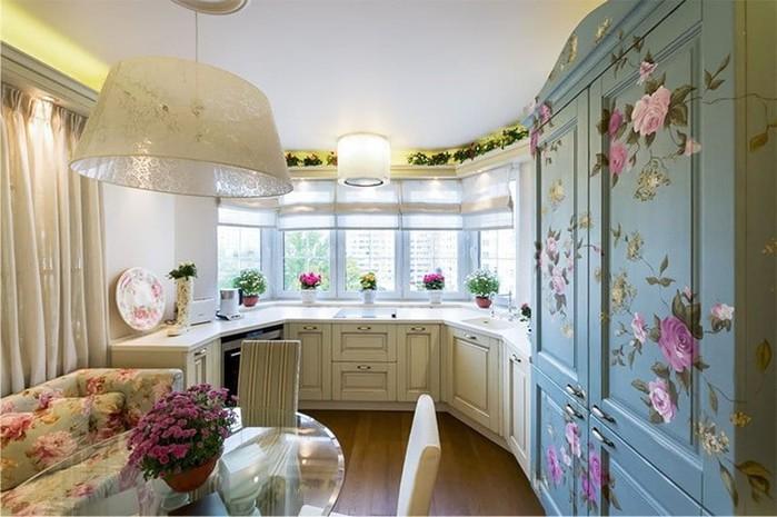 Слово «тюль» какого рода в русском языке? Бонус: Кухня с эркером — уютные дизайнерские решения