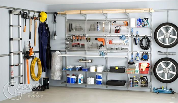 Обустраиваем гараж: порядок - это и комфорт, и безопасность