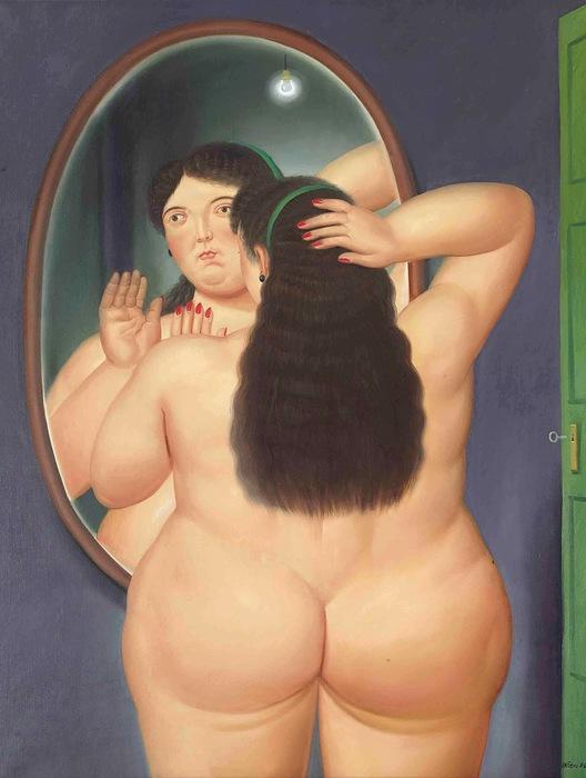 1986_Женщина перед зеркалом_162.2 x 125.4_х.,м._Частное собрание (продана 27 мая 2011 в Нью-Йорке за 602,500$) (528x700, 80Kb)