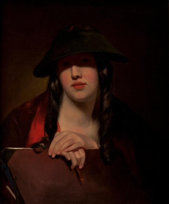 Thomas_Sully_-_The_Student_(Rosalie_Kemble_Sully)_-_Google_Art_Project (580x700, 352Kb)