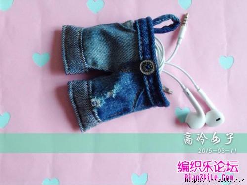 Шьем миниатюрный кошелек Джинсовые шортики (18) (500x376, 97Kb)