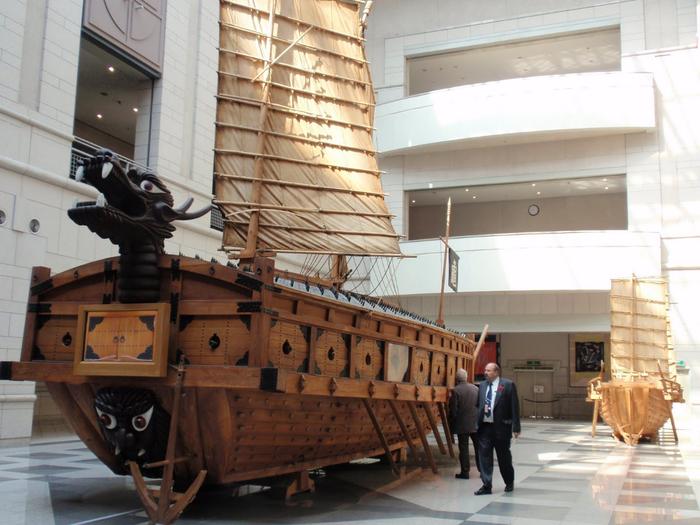 корабль-черепаха кобуксон корея 6 (700x525, 386Kb)