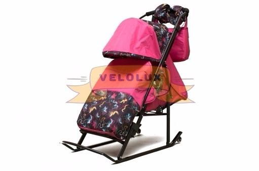 санки-коляска Зимняя Сказка 3В