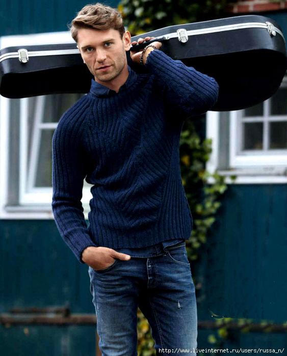 Мужской Стильный Пуловер С Доставкой