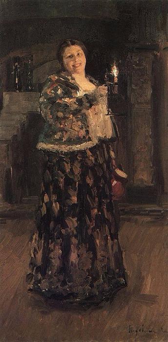 Хозяйка. 1896 (344x700, 271Kb)