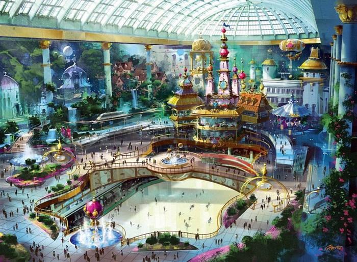 Топ 10 интересных тематических парков по всему мире