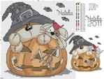 Превью схемы для вышивания хэллоуин (700x530, 429Kb)