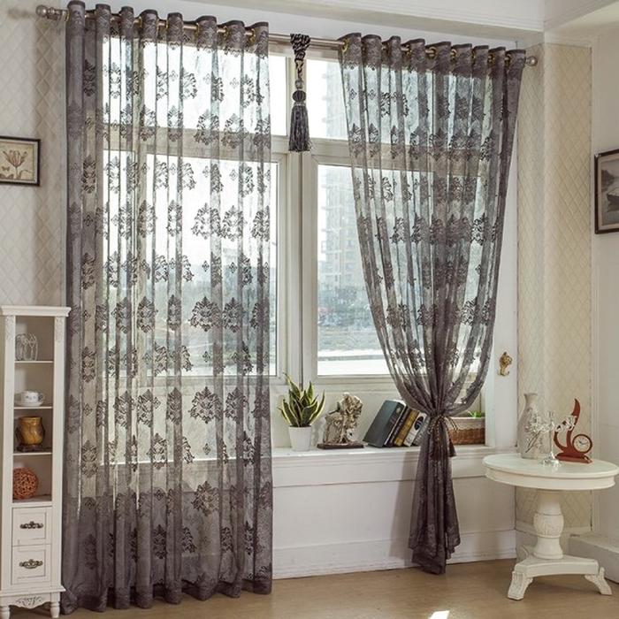 Custom sheer curtains