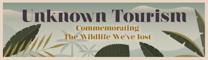 «Неизвестный туризм»   винтажные плакаты с животными, которых больше нет