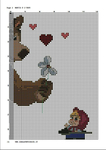 Превью вышивка маша Рё медведь 2 (494x700, 368Kb)