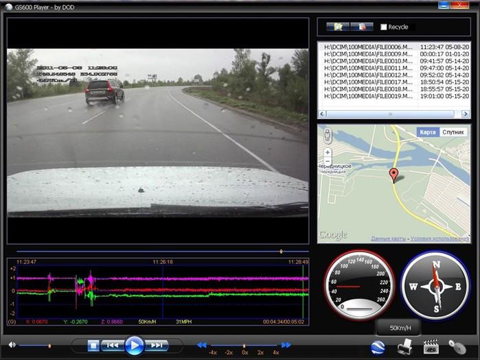 Автомобильные видеорегистраторы — разрешение HD