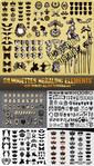Превью 1311053841_stock-vector-silhouettes-heraldic-elements (399x700, 387Kb)