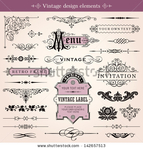 Превью stock-vector-vintage-calligraphic-design-elements-and-page-decoration-vector-142657513 (450x470, 197Kb)