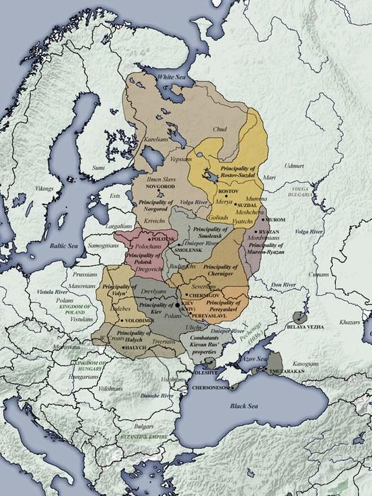 Правда ли, что государства «Киевская Русь» никогда не было?