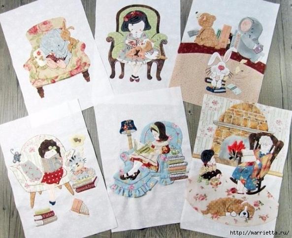 Лоскутное панно в детскую комнату (4) (593x484, 201Kb)