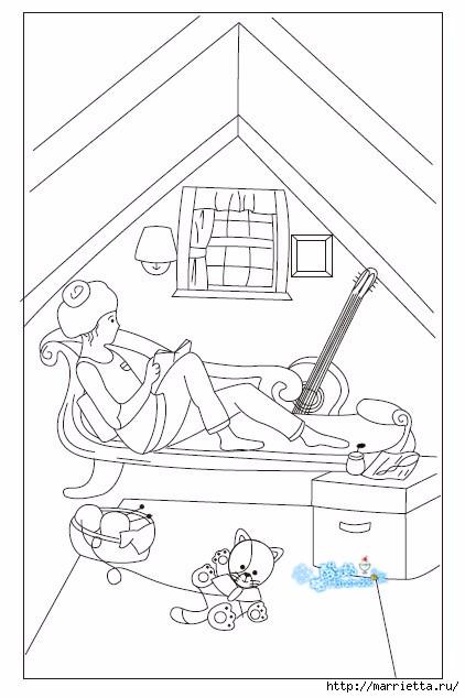 Лоскутное панно в детскую комнату (34) (422x634, 123Kb)