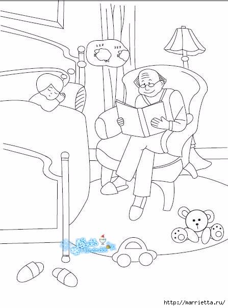 Лоскутное панно в детскую комнату (37) (447x605, 106Kb)